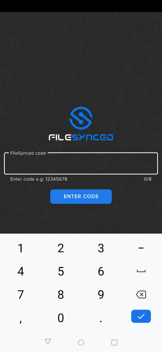 working filesynced codes